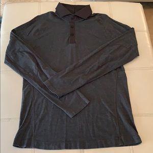 Men's lululemon long sleeve polo